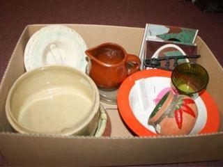 Various Pottery Ceramic Pieces  Not a set