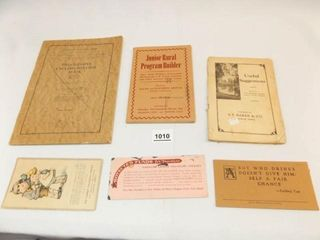 1932  1927   Various Booklets  Papers  6