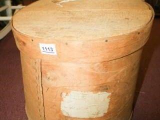 large Round Cheese Box