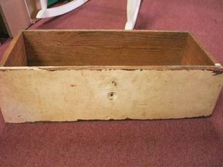 Wooden Drawer and Wooden Crates