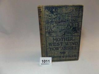 1916 Mother West Wind  How  Stories
