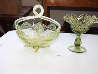 Green Opalescent per seller  basket  4 feet