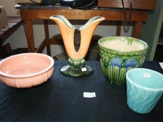 McCoy  Per seller  Pink Bowl  Planter  Vase