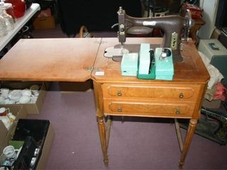 Domestic  Sewing Machine with Attachments