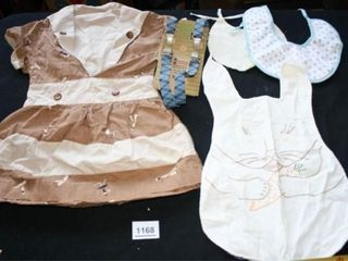Baby Bibs and Child s Dress  Suspenders