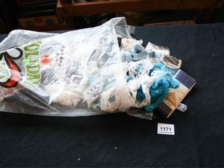 Bag of Various Trim Pieces  over 25 patterns