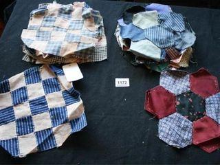 Quilt Blocks  8 9 X 9 Square Blocks  10 7 pc
