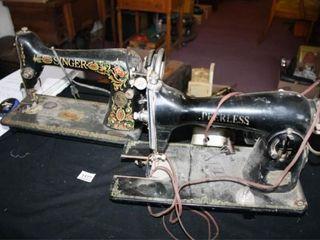 Singer Sewing Machine  Peerless Machine