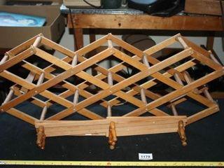 Wood Shelf Hanging Rack