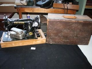 Emerson Portable Sewing Machine with cover