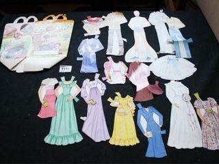 Paper Dolls dated 1984  McDonalds HM Box