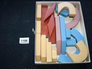Children s Painted Wood Blocks