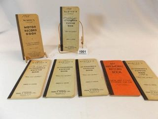 1938   1946  Automobile Expense  Record Books  7