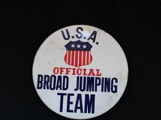 USA Broad Jumping Pin