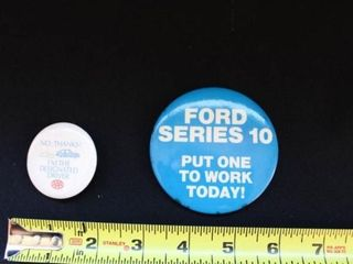 Ford and AAA insurance Pin