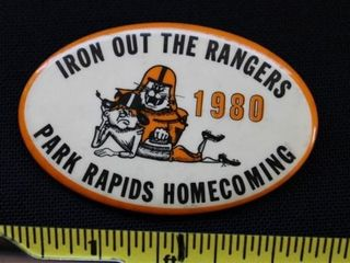 Iron Out The Rangers pin