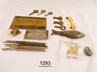 Metal Items  Advertising  Keys