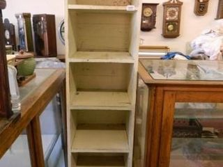 Wooden Shelf Unit  6 Shelves