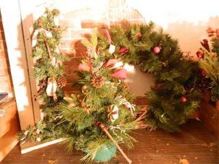 Christmas Wreath  Tabletop Tree