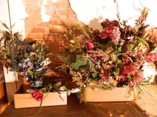 Silk Flowers  Assortment  2 Boxes