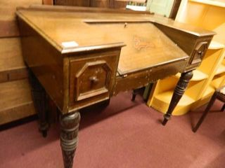 Walnut Writing Desk  per seller