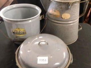 Graniteware Cowboy Coffee Pot