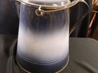 Bluebell Ware Cowboy Coffee Pot