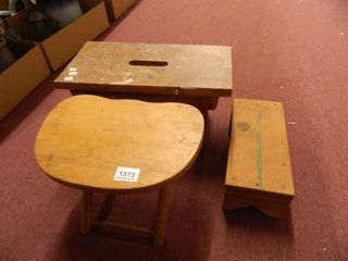 Wooden Step Stools 2
