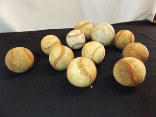 Softballs  2  Baseballs  9
