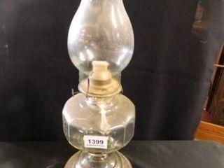 Kerosene lamp  Clear Glass