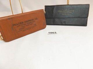 1917  1923 livestock Sales Notebooks  2