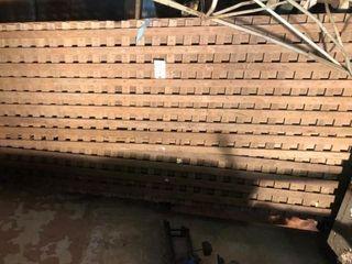 Wood lattice Type Panels