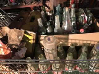 Glass Pop Bottles and Crates  150