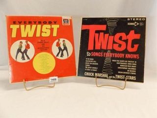 Records 12    Everybody Twist  Twist to Songs  2