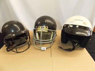 Helmets   Baseball  Football  Motorcycle  3