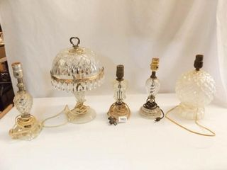 Electric lamps  Clear Glass Bases  5