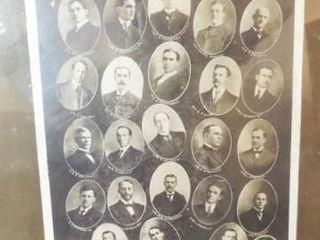 1910 Judiciary Committee Photo  Framed