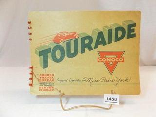 1938 Conoco Touraide Booklet