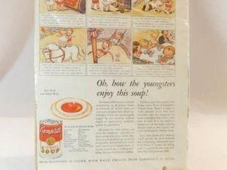1933 Campbells Soup Magazine Advertisement