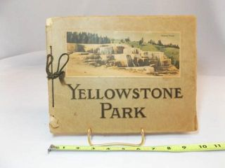 Yellowstone Travel Book   with lithographsIJ