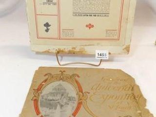 1904 World s Fair Official Book  St  louis  MO