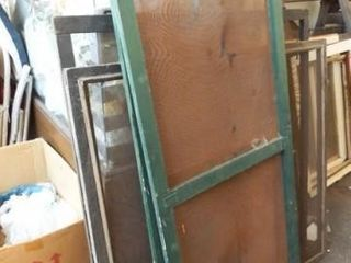 Wooden Frames with Screens  4