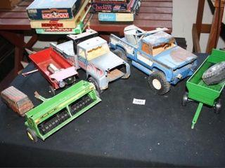 Kids Trucks Farm Vehicles Wrecker  Plow