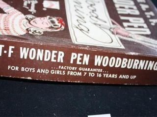 A T F  Wonder Pen Wood Burning Kit