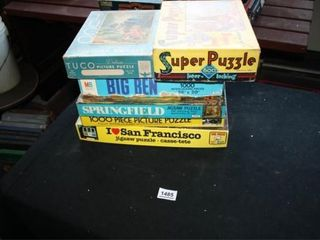 Jigsaw Puzzles  6 total  300 1000 Pieces each