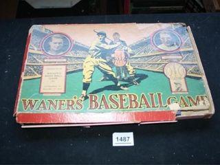 Waner s Baseball Game  Incomplete