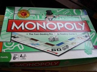 Monopoly Games  3  All Incomplete