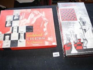 Chess Sets Champion  Sculptured