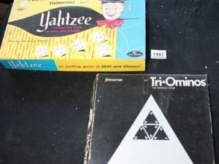 Yahtzee Game   Triominoes