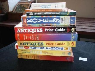 Antique Pricing Books 10 total